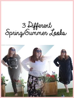 3 Different Spring/Summer Looks. www.annanuttall.com