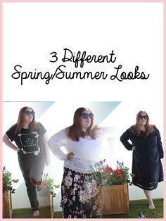 3 Different Spring/Summer Looks. www.annanuttall.com