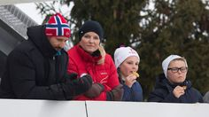 The Norwegian Royal Family attended the Nordic World Ski Cup