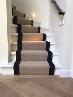 Staircase Makeover, Art Studio At Home, Interior Stairs, Carpet Stairs, Staircase Design, Open Plan Living, Rugs On Carpet, Carpets, First Home