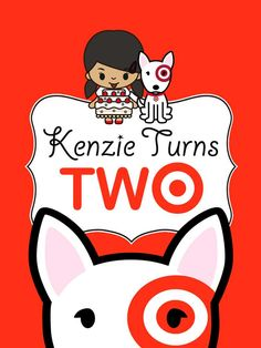 Invitation For Zees Tworiffic Target Party