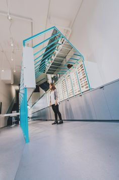 """Mirrored surfaces in this Seattle eyewear store """"play with perception"""""""