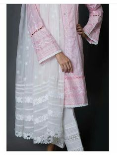 Best 12 Neck deaigns – Page 358247345358899045 – SkillOfKing. Sleeves Designs For Dresses, Dress Neck Designs, Stylish Dress Designs, Sleeve Designs, Blouse Designs, Pakistani Fashion Casual, Pakistani Dresses Casual, Pakistani Dress Design, Salwar Designs