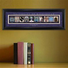 College Campus Art - University of Washington Free Personalization – GiftsEngraved