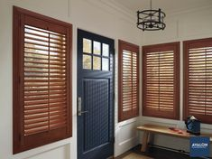 Shutters are a great option to add some classic style #windowtreatments #hunterdouglas #shutters