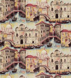 Gondolier wallpaper by Zoffany