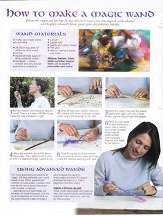 How to make a magic wand