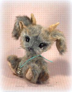 Ginny, the little Jackalope by AutumnWood+Bears