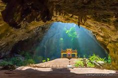 The throne in this cave was built in the late 19th century during the reign of the Thai king Chulalongkorn. It's managed by Khao Sam Roi Yot National Park, less than 11 miles away, so many visitors to that mountainous park on the Gulf of Thailand coast include the cave on their itinerary. A hole in the cave's ceiling floods the chamber with light every morning, a feature that's understandably irresistible to photographers.