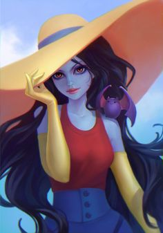 Marceline, Anna Maystrenko on ArtStation at http://www.artstation.com/artwork/marceline