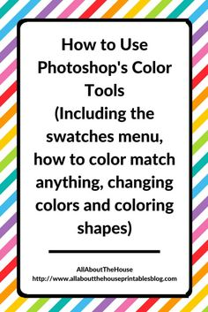How to Use Color Swatches in Photoshop (Photoshopu0027s Color Menu)  sc 1 st  Pinterest & Donu0027t own a printer? Here are 6 companies that will print and ship ... pezcame.com