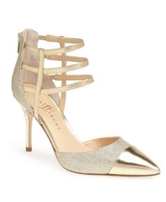 gorgeous gold pumps @nordstrom  http://rstyle.me/n/ptkuwpdpe