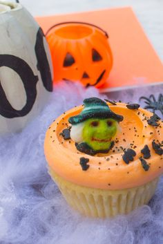 Es el mes de Halloween y nosotros no perdemos la oportunidad de celebrarlo, ¿qué te parecen éstos maravillosos cupcakes? #MagnoliaBakeryMX #halloween #cupcakes