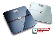 Våg: Withings WiFi Personvåg - Badrumsvåg som mäter vikt, fett och BMI