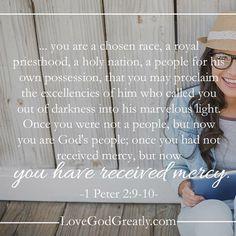 https://instagram.com/p/05HjWyHjvs/?taken-by=lovegodgreatlyofficial 1 Peter 2:9-10