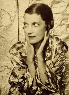 The honorable Mrs. Reginald (Daisy) Fellowes by CECIL BEATON 1920's. from Allure by Diana Vreeland (2002) (please follow minkshmink on pinterest) #twenties #cecilbeaton #daisyfellowes