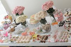Vintage Garden - Flower Birthday Party Theme