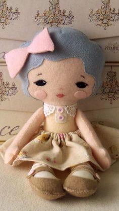 Sweetie pie doll pdf pattern