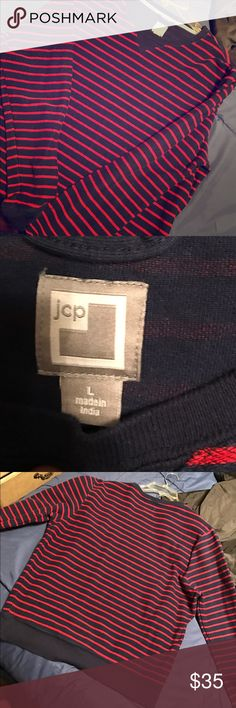 Nice JCP JC Penny sweater for men. Grew out of it before I ever got the chance to wear it. Still brand new! Comes from a smoke free home. Nice light sweater to throw on the go with some nice jeans or what have you. Accepting offers & trades jcpenney Shirts Sweatshirts & Hoodies