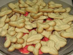 Valentine's Day Hearts Spritz Cookies