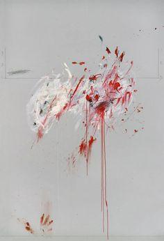 Cy Twombly artist's work Nine discourses on Commodus in the Guggenheim Bilbao Museum's Collection. Cy Twombly Art, Cy Twombly Paintings, Abstract Expressionism, Abstract Art, Guggenheim Bilbao, Modern Art, Contemporary Art, Robert Rauschenberg, Art Moderne