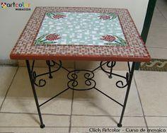 mesa com tulipas em mosaico - Pesquisa Google