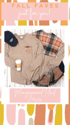 This comfy long sleeved jersey will be a staple in your fall wardrobe! Perfect for transitioning between seasons, this casual long sleeved tee has a unique touch to stand out in the crowd! Available in Oatmeal or Charcoal, each tee comes with a plaid back and front pocket accents – Pumpkin Plaid on Oatmeal and Buffalo Plaid on Charcoal. With a loose and comfy fit, youll be able to wear this tee with shorts, leggings, or pants to create endless outfit options!
