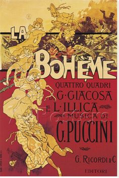 La Bohème, Puccini  ...~~the second opera recording my uncle bought for me.  Shame on me, as I have always preferred the symphony....