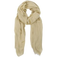 Gloss Scarf ($95) ❤ liked on Polyvore