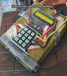 CS GO Birthday Cake