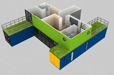 4-Container Houses