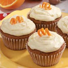 Orange Applesauce Cupcakes...contest winning recipe