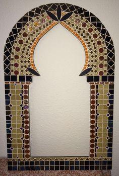 Mosaic Mirror Frame. Arab Style