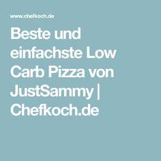 Beste und einfachste Low Carb Pizza von JustSammy | Chefkoch.de