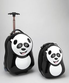 Take a look at this Cuties & Pals Panda Backpack & Trolley by Baby on the Go Collection on #zulily today!