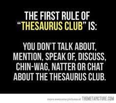 Thesaurus Club  : )