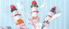 Készítsd magad! Színes cukorka - nyársak! Leírás a cikkben.