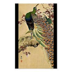 Poster-Vintage Japanese Art-Ohara Koson 12