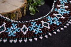 Collier ethnique collier ethnique ukrainien par NakaHandMadeShop