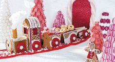 easter bunny gingerbread train - Google Search