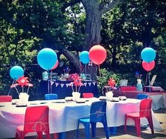 We aspire to create events that harmoniously tell a story of those being celebrated, exceeding expectations, and leaving your guests mesmerized. Planes Party, 1st Birthday Parties, Airplane, Birthdays, Events, Table Decorations, Weddings, Plane, Happenings