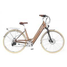Allegro Invisible City Comfort Bronze -  Das leichte und komfortable City E-Bike mit einem integrierten und herausnehmbaren Akku im Rahmen für mühelose Stadtrundfahrten. Der stylische und treue Begleiter lässt Sie auch auf Ihrem Arbeitsweg nicht ins Schwitzen kommen. Bicycle, Bronze, Veils, Loyalty, Bicycle Kick, Bike, Bmx, Cruiser Bicycle