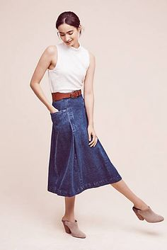 Orleans Denim Skirt - great easy look