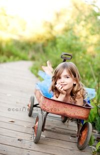 Cute idea with the wagon