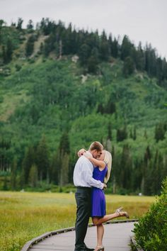 Kailey Rae Photography Utah Photographer Utah Engagement Photographer Silver Lake Mountain Engagement Pictures Big Cottonwood Canyon