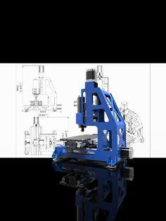 Blocos FP: Mini CNC MRP300