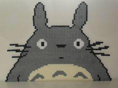 Totoro hama beads by foreverstrawberries on deviantart