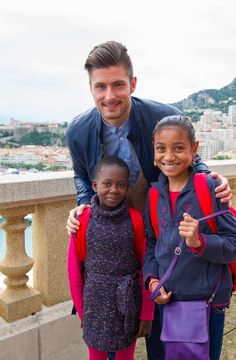 Olivier Giroud ambassadeur du Monaco Collectif Humanitaire - Nov 2014 - © Realis Sébastien Darasse - 17