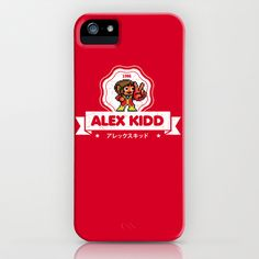 Alex Kidd iPhone & iPod Case by Slippytee Clothing - $35.00 Retro Videos, Retro Video Games, Alex Kidd, Ipod, Nerdy, Gaming, Iphone Cases, Clothing, Outfit