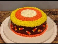 Make a Candy Corn Cake